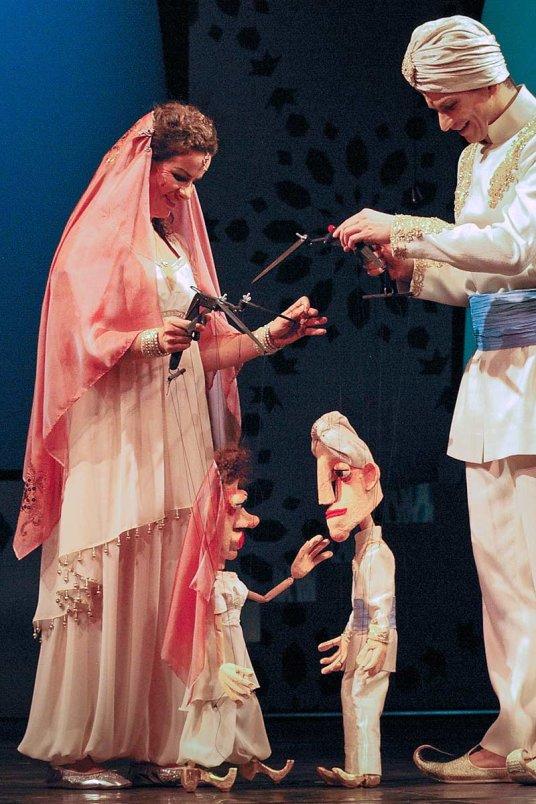 Szene aus Aladin