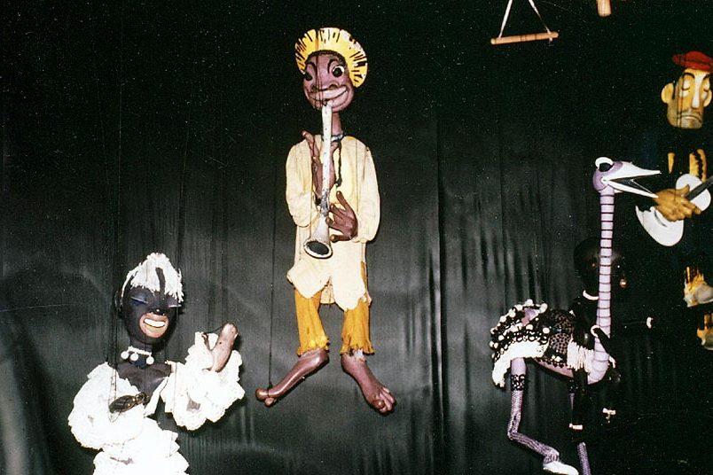 Marionetten von H. Siegel