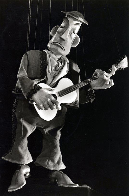 Mexikanischer Gitarrist