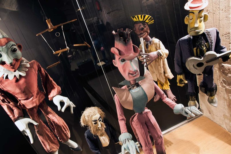 H. Siegel Marionetten