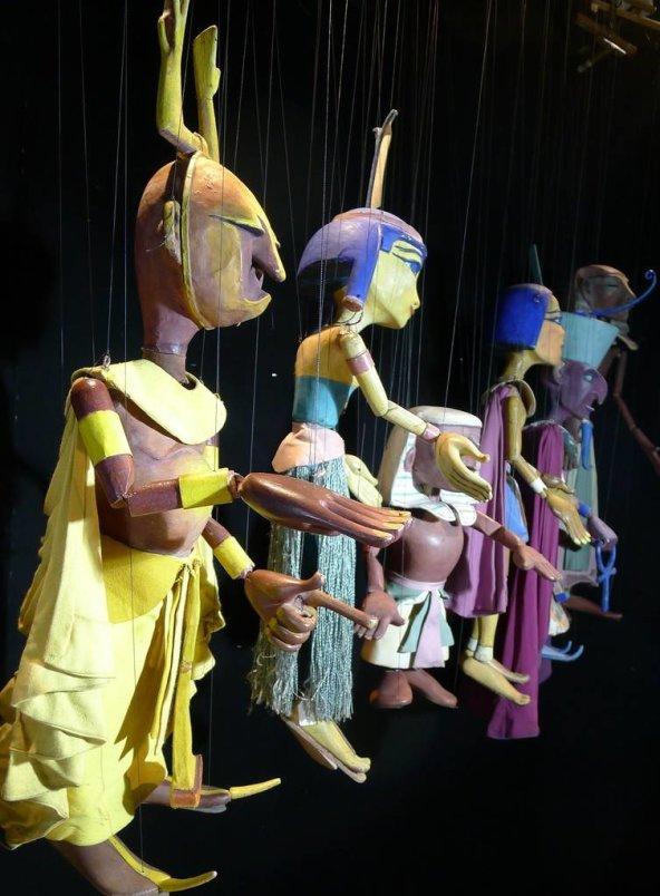 Restaurierte Harro Siegel Marionetten